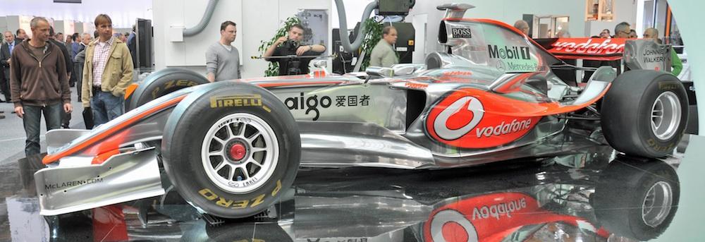 McLaren F1 team blijft bij machines van Mazak