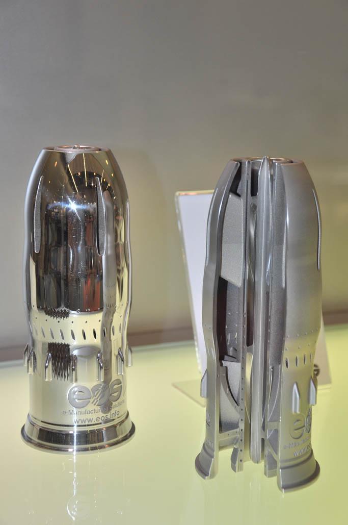 Spiegelkwaliteit lasersinterdelen van EOS