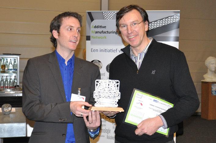 Winnaars AM Awards laten kansen van 3D printen zien