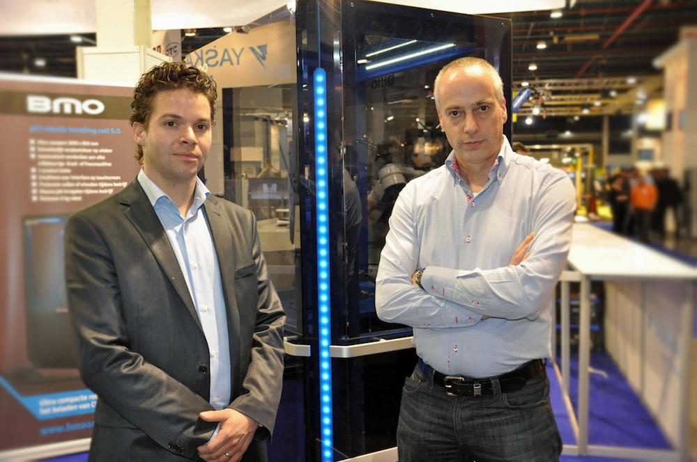 Eerste µC5-robotcel van BMO naar Heemskerk Fijnmechanica