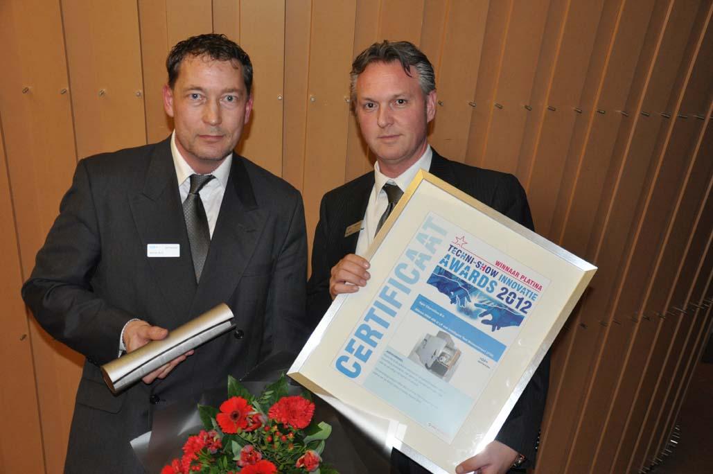 Jury Innovatie Awards kiest voor proces beheersing