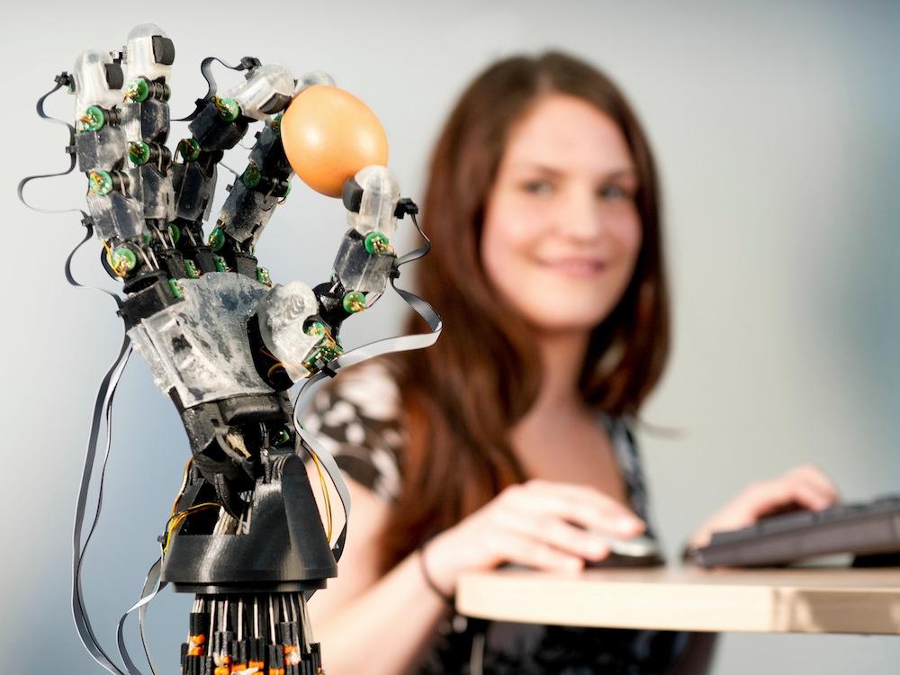Robot breekt geen Paasei