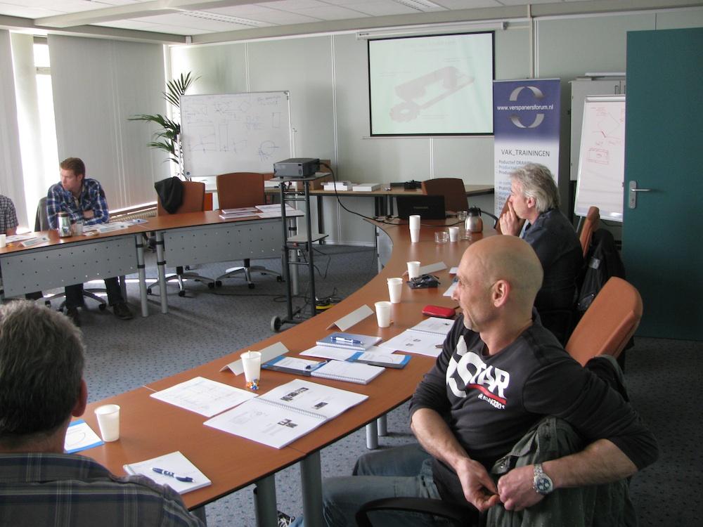 Stichting Verspanersforum heeft de eerste groep praktijkopleiders getraind.
