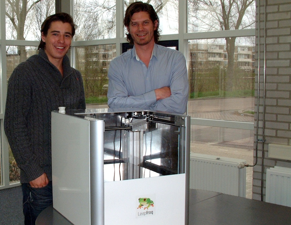 Leapfrog: betaalbare Nederlandse 3D printers