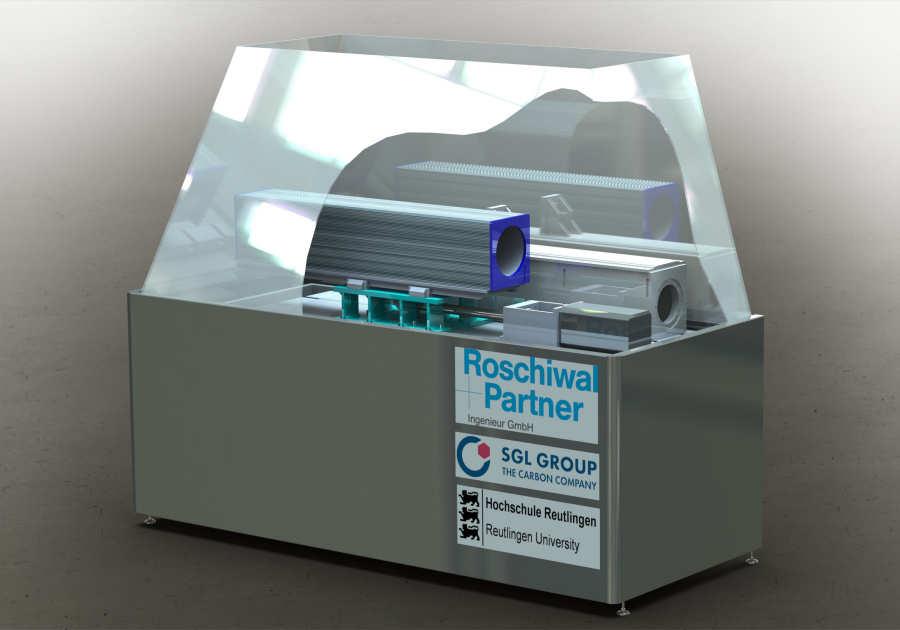 Roschiwal: carbonslede voor freesmachine
