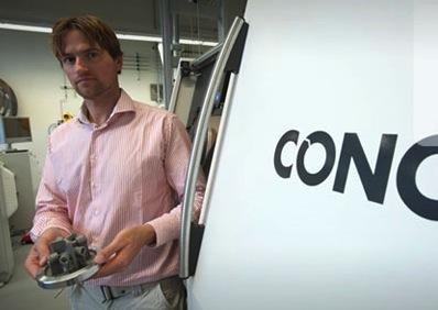 Shell zet 3D printers van CONCEPTlaser in