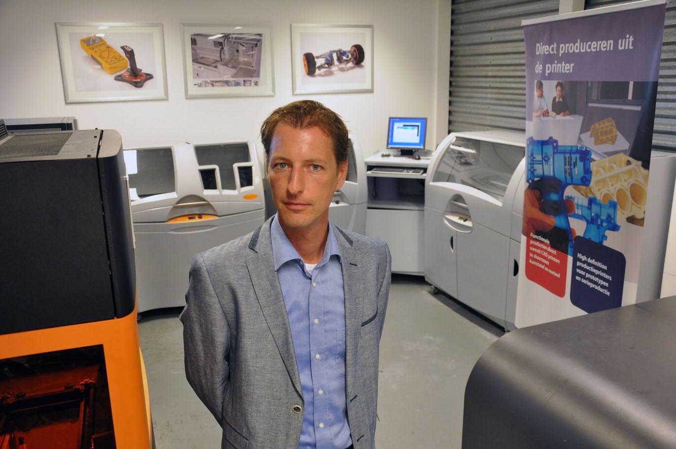 Landré ziet 3D printen als onderdeel productie-omgeving