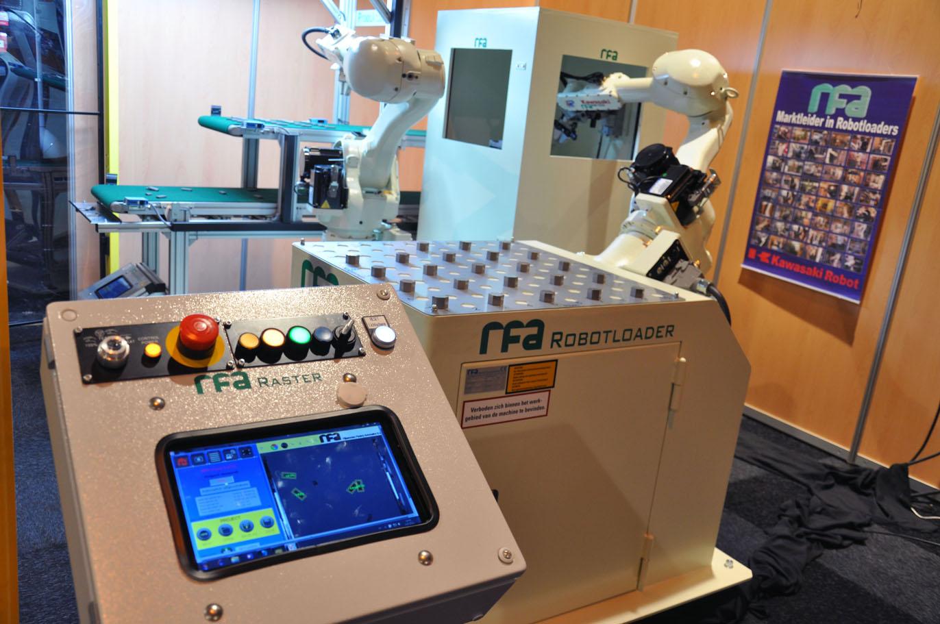 RFA ontwikkelt Robotloader voor draaicel