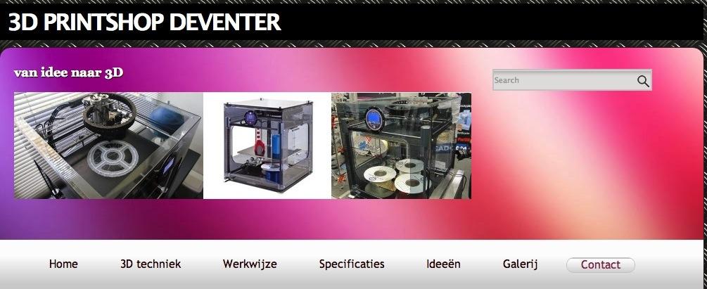 3D Printshop Deventer: 3D printservice voor het mkb