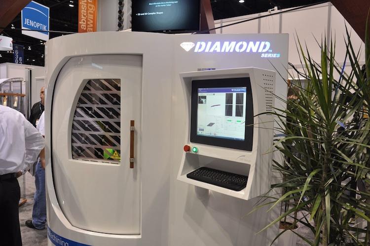 Laser maakt spaanbreker in PKD-gereedschappen