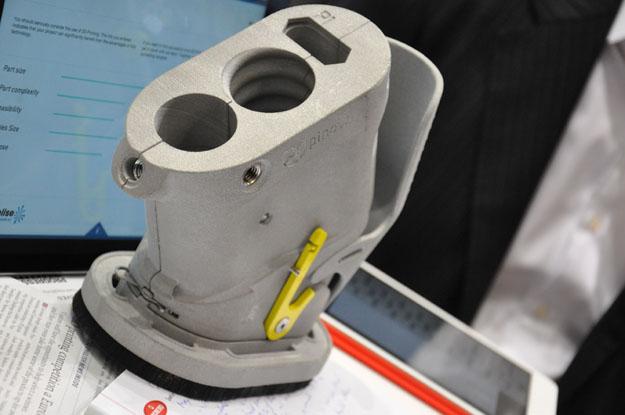 Materialise lasersintert behuizing innovatieve straalapparatuur