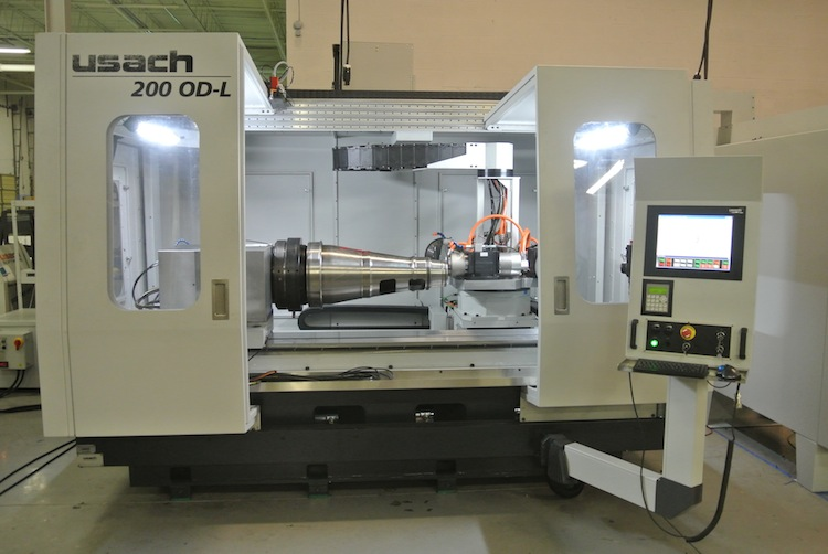 Usach technologies grote machine