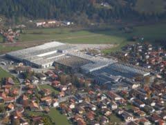 De fabriek van Deckel Maho in Pfronten