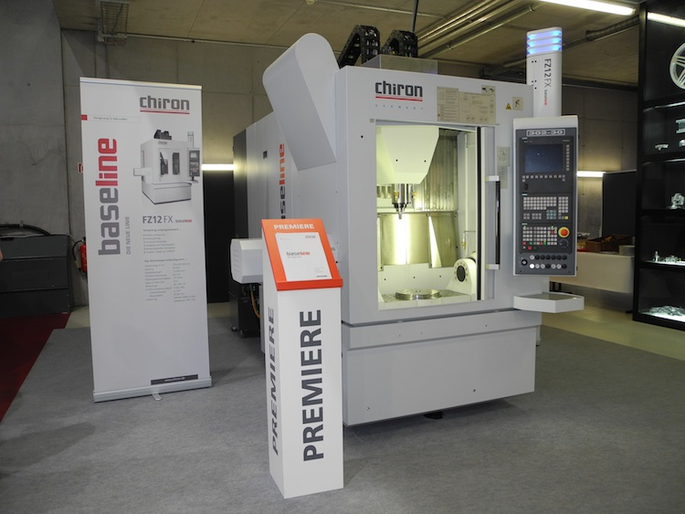 Chiron lanceert baseline machines