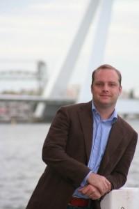 Lucas van Ardenne: social media zeer geschikt voor de maakindustrie.