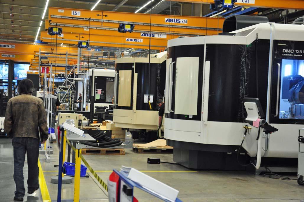 Gildemeister AG verkoopt 8155 machines en breekt alle records