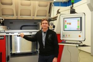 Andreas Höller van Schmolz + Bickenbach Guss Gruppe: eigen 3D printer voor gietkernen