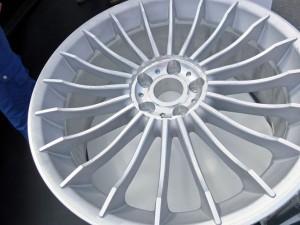 De velg van de BMW BiTurbo