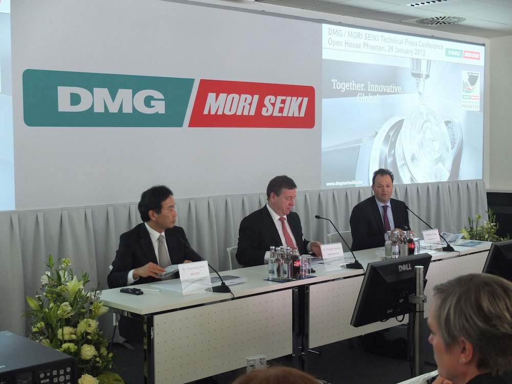 Mori Seiki Ltd vergroot belang in Gildemeister AG