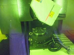 Ook het lasertextureren werd getoond