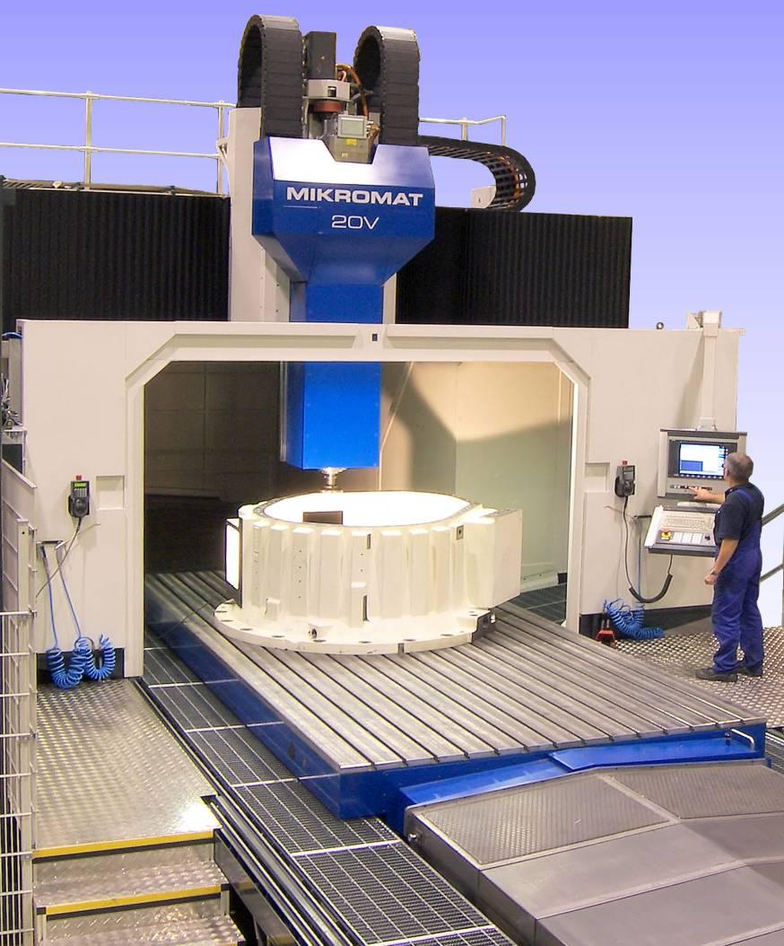 Stolle Nederland freest met Mikromat 20V direct µm-nauwkeurig