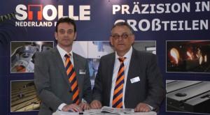 Rob en Dolf Geraedts van Stolle Nederland.