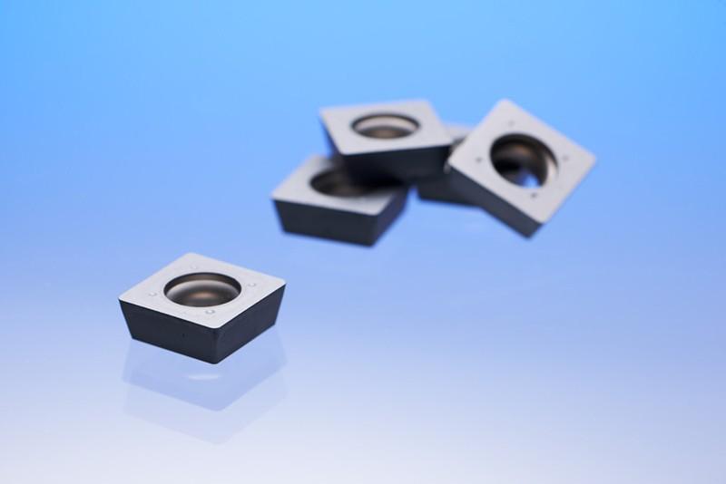 Wisselplaten met 100 µm dikke coating.