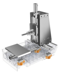 Dankzij die actief dempingsysteem kun je machines stabiel en beschermd tegen trillingen van buitenaf opstellen zonder kostbare funderingen.