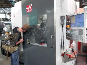 Haas liet de 5-asser U750 zien, die vorig jaar al op de IMTS in premiere ging.