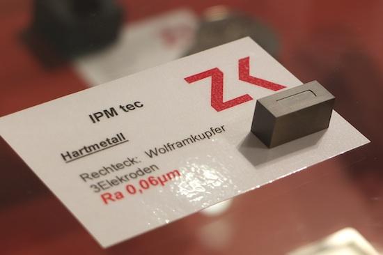 Zimmer&Kreim heeft een nieuwe generator voor de zinkvonkmachine ontwikkeld.