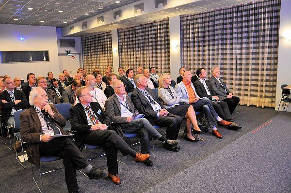 De najaarsbijeenkomst van het Verspanersforum trok dit keer zo'n 55 deelnemers uit onderwijs en industrie.