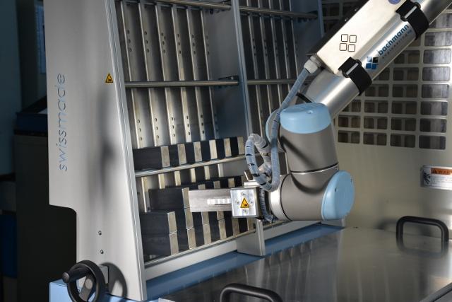 Gressel BFM Feedmaster: robotlader met nulpuntspansysteem