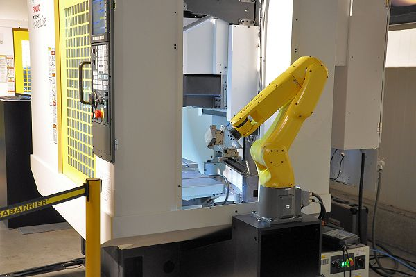 Fanuc Robodrill ultracompact automatiseren