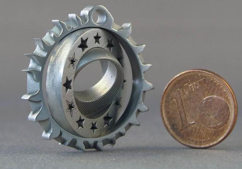 EOS en 3D-Micromac stappen in micro lasersinteren