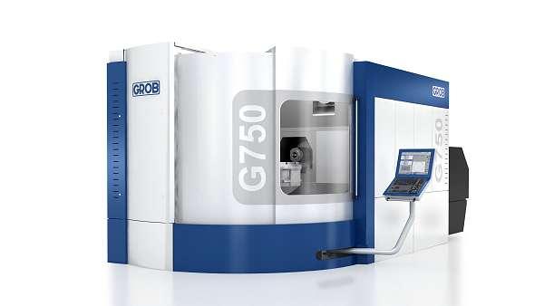 Grob G750: uitbreiding universele machinereeks naar boven