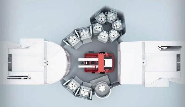Liebherr palletsysteem óók voor CNC-machines met frontale belading