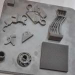 Enkele stukken uit de Phenix 3D metaalprinter.