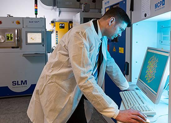 In Berlijn staat het wereldwijde onderzoekslaboratorium van Siemens voor additive manufacturing.