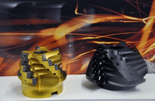 40 jaar Seco Tools : demo productie spiraalvertande ruwfrees