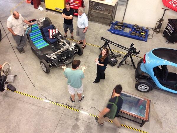 IMTS 2014: Local Motors maakt met hybride 3D-print technologie een auto