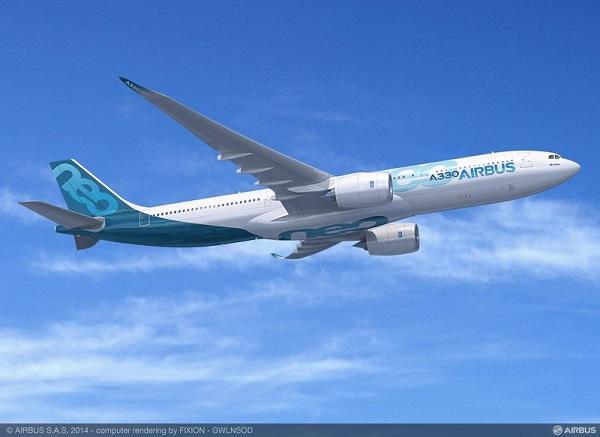 Airbus breidt vloot uit met zuinige A330neo