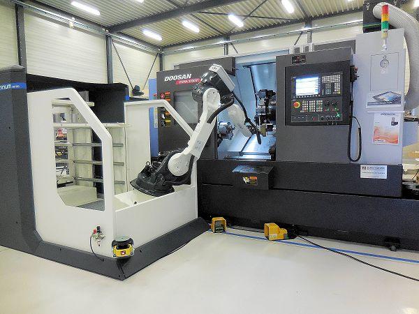 BMO toont flexibele automatisering: product- en pallethandling in compacte cel