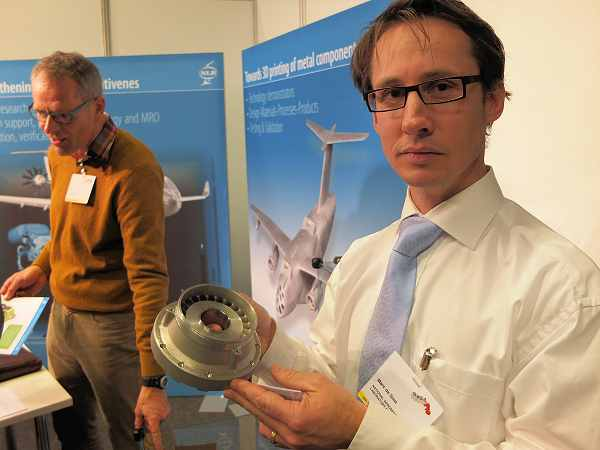 NLR richt zich met additive manufacturing ook op high tech machine-industrie