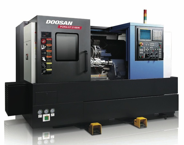 Doosan introduceert Puma Global Turn serie