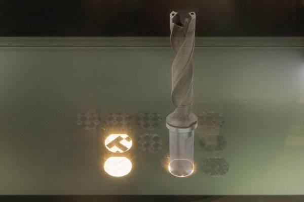 Mapal QTD boor gemaakt via 3D-printen