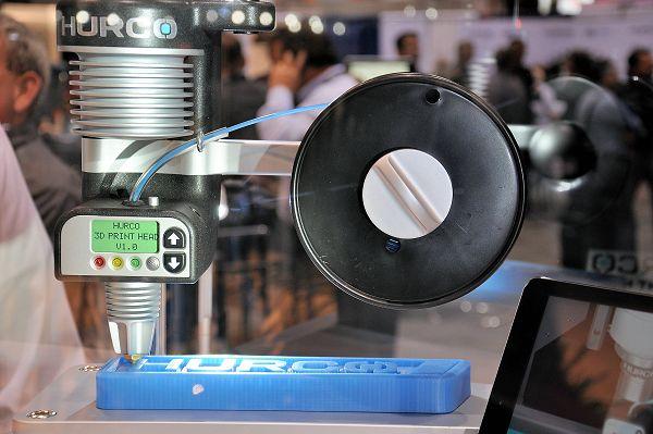 3D-modellen uit kunststof printen op Hurco CNC-machine