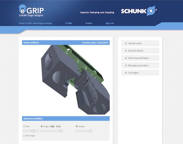 Schunk eGrip: grijpervingers automatisch designen en 3D-printen