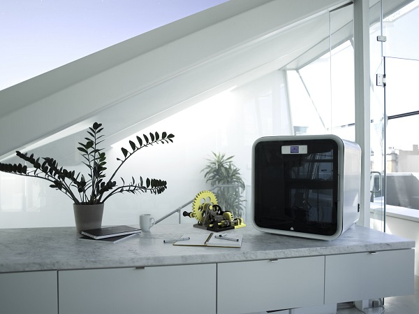 De fabriek van de toekomst volgens 3D Systems: de desktop factory in de vorm van een 3D printer.