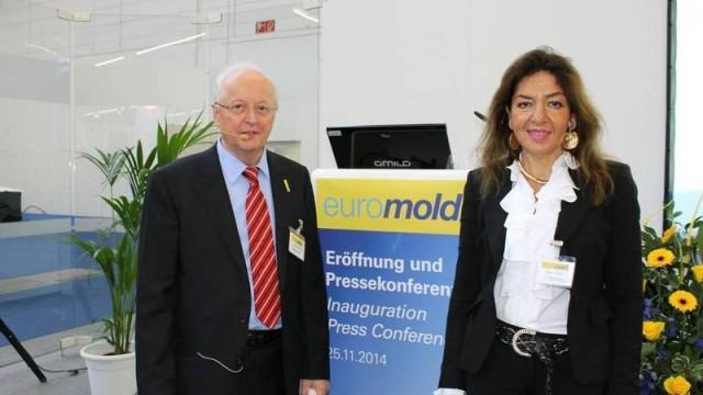 Eberhard Döring en Diana Schnabel.