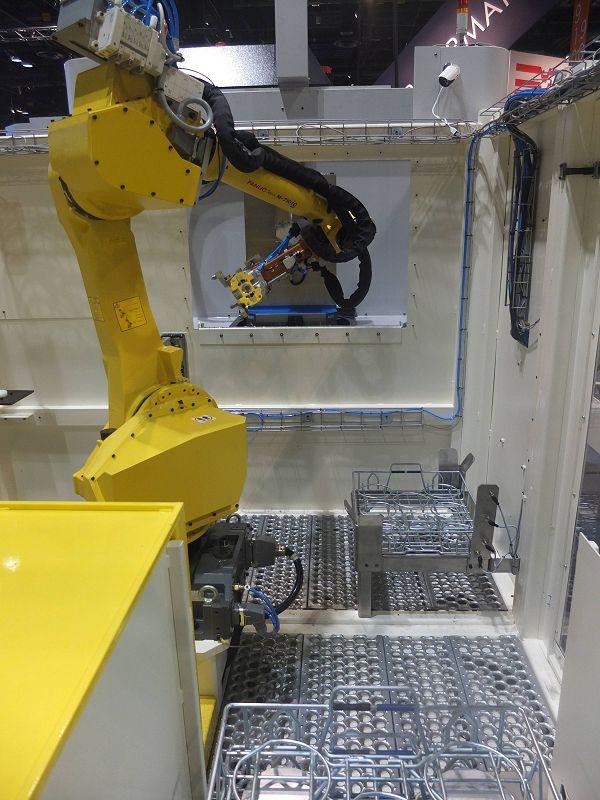 De Amerikaanse metaalbewerking heeft onder andere veel interesse voor automatisering.